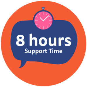 Eight-Hours-Support-Time
