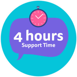 Four-Hours-Support-Time