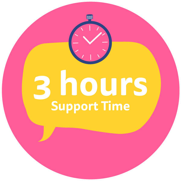 Three-Hours-Support-Time